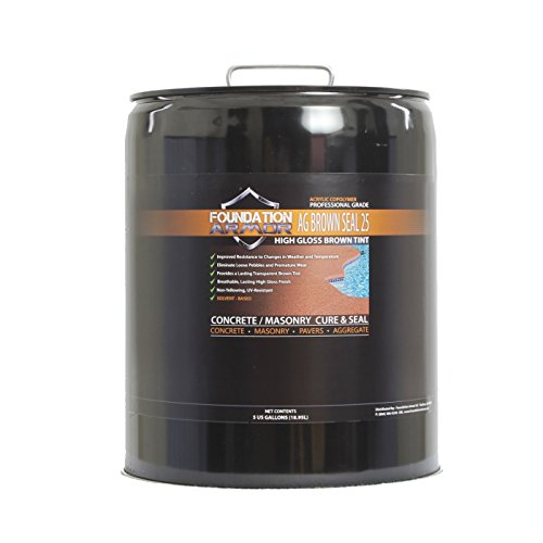 Armor AG Brown Tinted concrete sealer