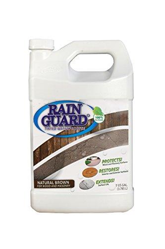 Rainguard Natural Brown Tinted concrete sealer