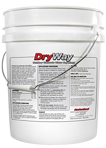 DryWay Water-Repellent Concrete Sealers