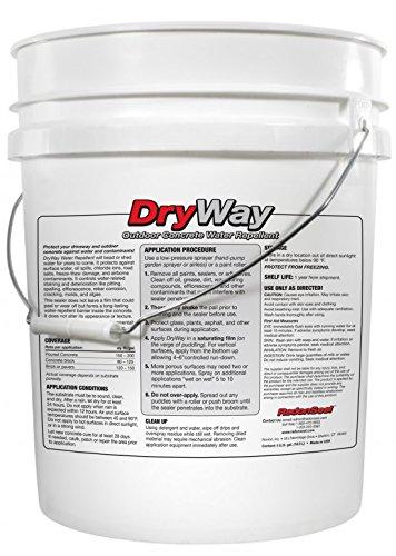 DryWay Water-Repellent Concrete Sealers